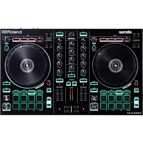 Open Box Roland DJ-202 Serato DJ Controller
