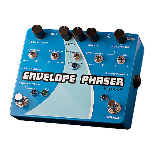 Open Box Pigtronix EP2 Envelope Phaser Guitar Effects Pedal