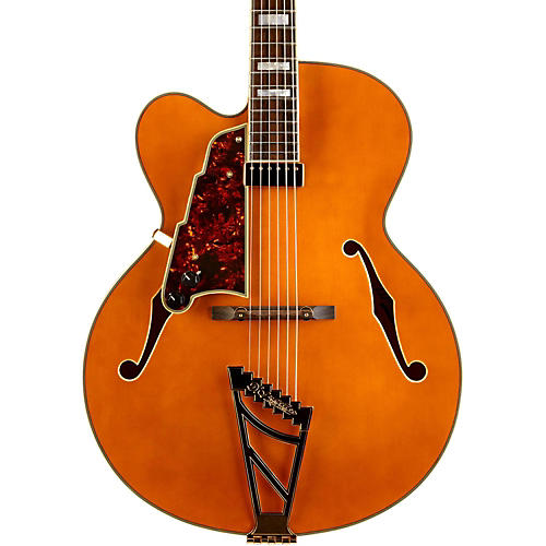 Open Box D'Angelico Excel Series EXL-1 Left Handed Hollowbody Electric Guitar with Stairstep Tailpiece