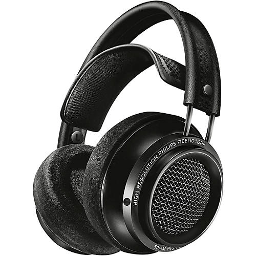 Open Box Philips Fidelio X2HR/27 Hi-Res Headphones Black