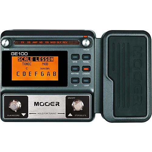 Open Box Mooer GE100 Guitar Multi-Effects Pedal