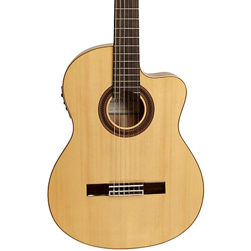 Open Box Cordoba GK Studio Negra Acoustic-Electric Nylon String Flamenco Guitar