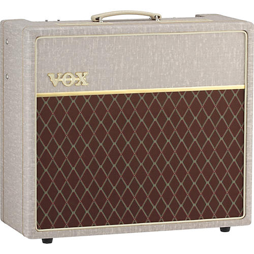 Open Box Vox Hand-Wired AC15HW1 15W 1x12 Tube Guitar Combo Amp