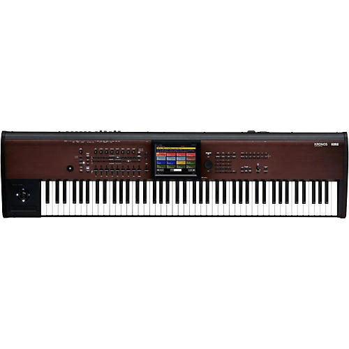 Open Box Korg KRONOS with New Light Touch 88-Note Action and Lighter Body