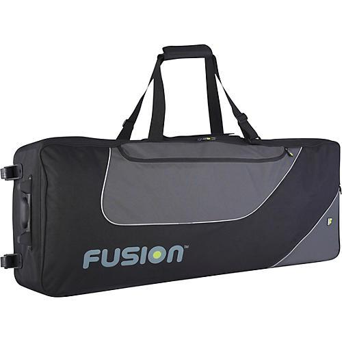 Open Box Fusion Keyboard 12 Gig Bag with Wheels (76-88 Keys)