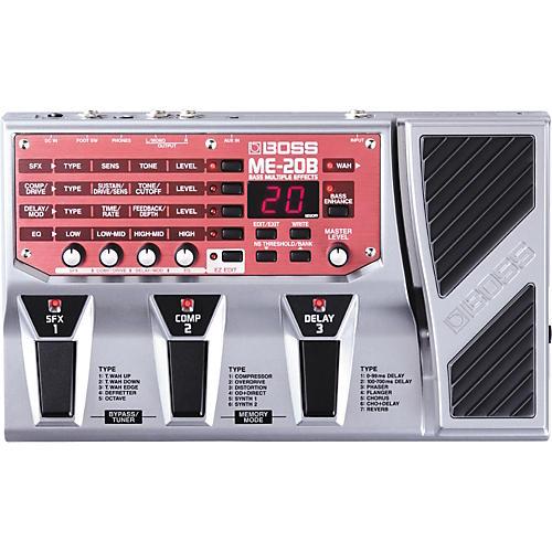 Open Box Boss ME-20B Bass Multi-Effects Pedal