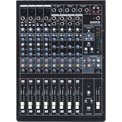Open Box Mackie Onyx 1220i Firewire Mixer