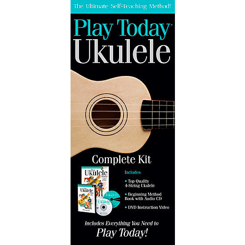 Open Box Hal Leonard Play Today Ukulele Complete Kit
