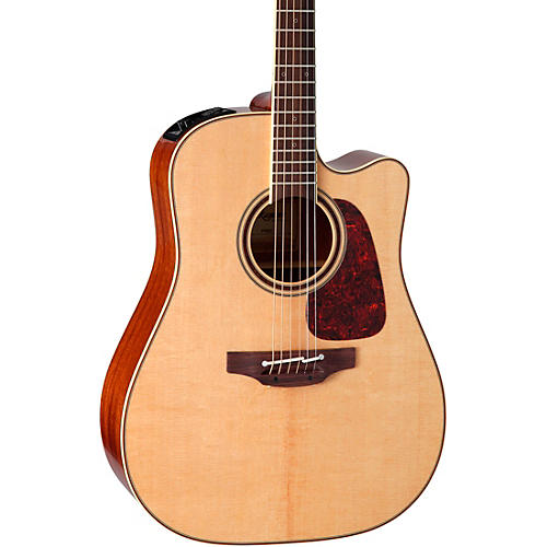 Open Box Takamine Pro Series 4 Dreadnought Cutaway Acoustic-Electric Guitar