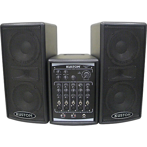 Open Box Kustom PA Profile 200 Portable PA System