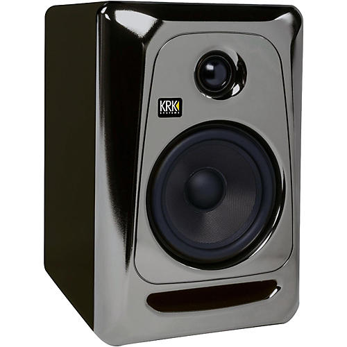 Open Box KRK ROKIT 5 G3 Powered Studio Monitor, Electric Silver Limited Edition