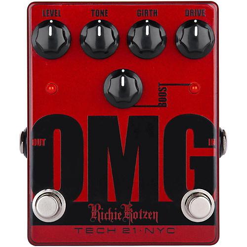 Open Box Tech 21 Richie Kotzen OMG Signature Overdrive Guitar Effects Pedal