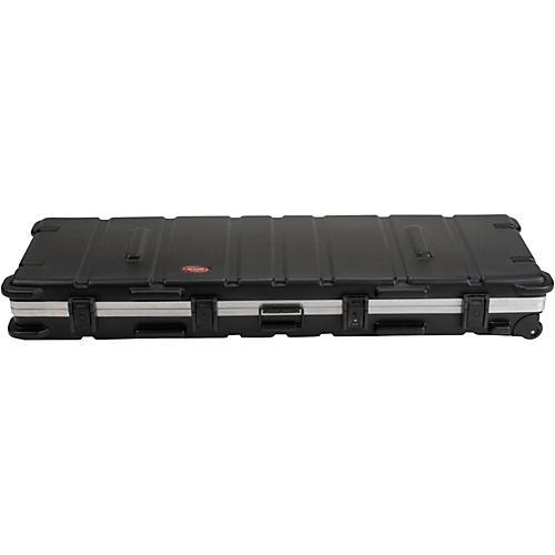 Open Box SKB SKB-5817W Slimline 88-Key Keyboard Case with Wheels