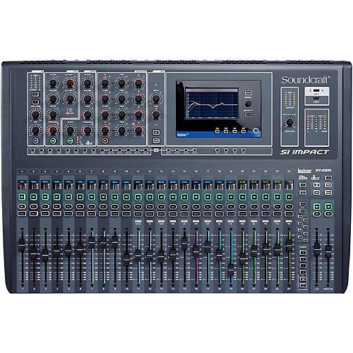 Open Box Soundcraft Si Impact 32-Channel Digital Mixer