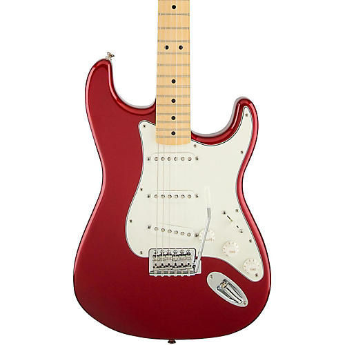 Open Box Fender Standard Stratocaster Electric Guitar with Maple Fretboard