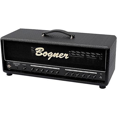Open Box Bogner Uberschall 120W EL34 Tube Guitar Amp Head Comet Black