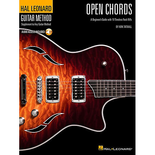 Hal Leonard Open Chords Book/CD Hal Leonard guitar Method Supplement