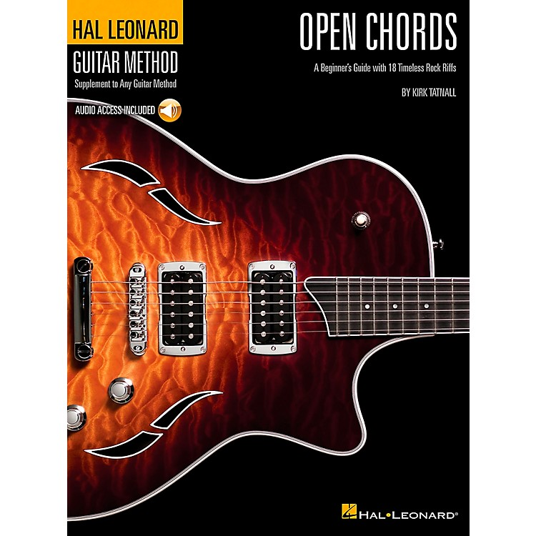 Hal LeonardOpen Chords Book/CD Hal Leonard guitar Method Supplement