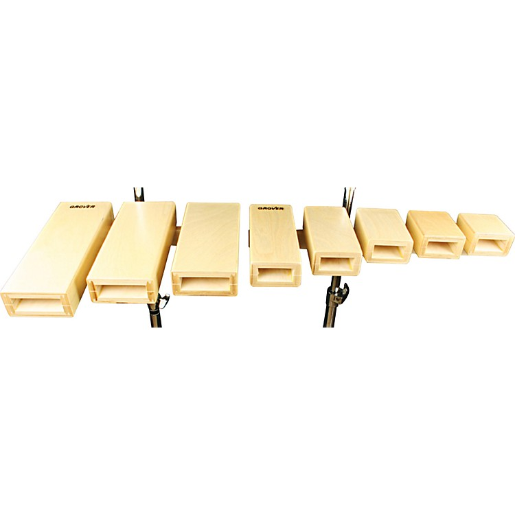 Grover Pro Open Tone Temple Blocks Set of 3