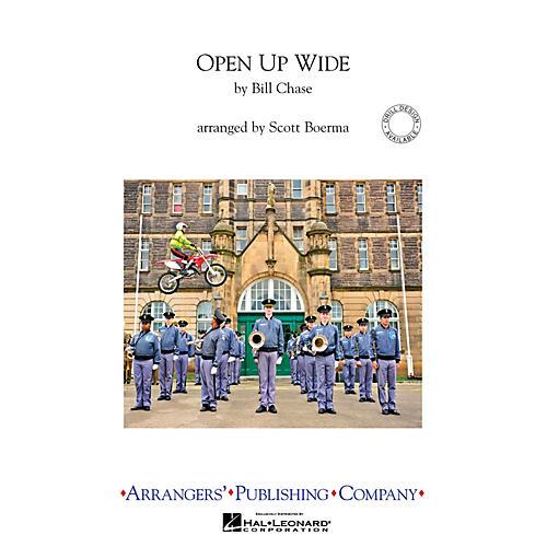 Arrangers Open Up Wide Marching Band Level 4 Arranged by Scott Boerma-thumbnail