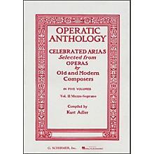 G. Schirmer Operatic Anthology Vol 2 Piano Celebrated Arias Mezzo Soprano