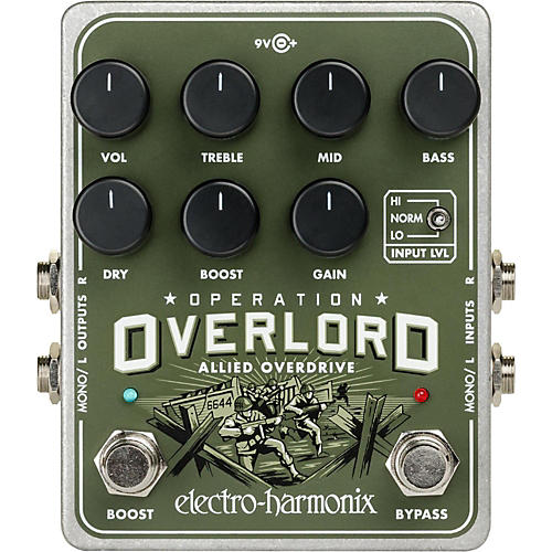 Electro-Harmonix Operation Overload Overdrive Pedal-thumbnail