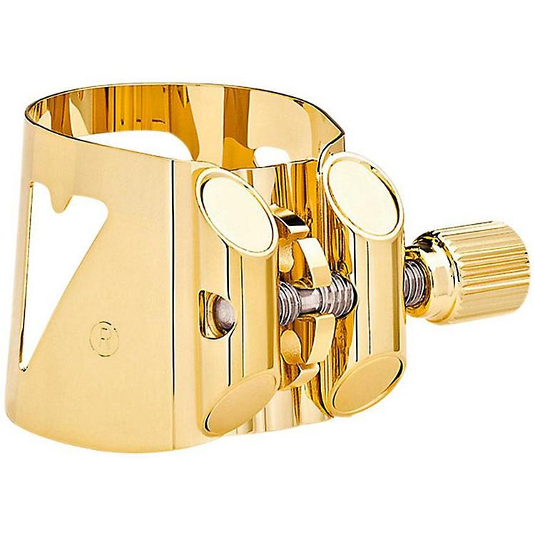 VandorenOptimum Series Saxophone LigaturesBari Sax Gold Ligature with plastic cap, Fits V16
