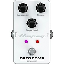 Ampeg Opto Comp Optical Compressor Effects Pedal