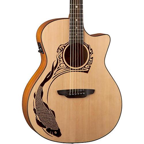 Luna Guitars Oracle Koi 2 Acoustic-Electric Guitar-thumbnail