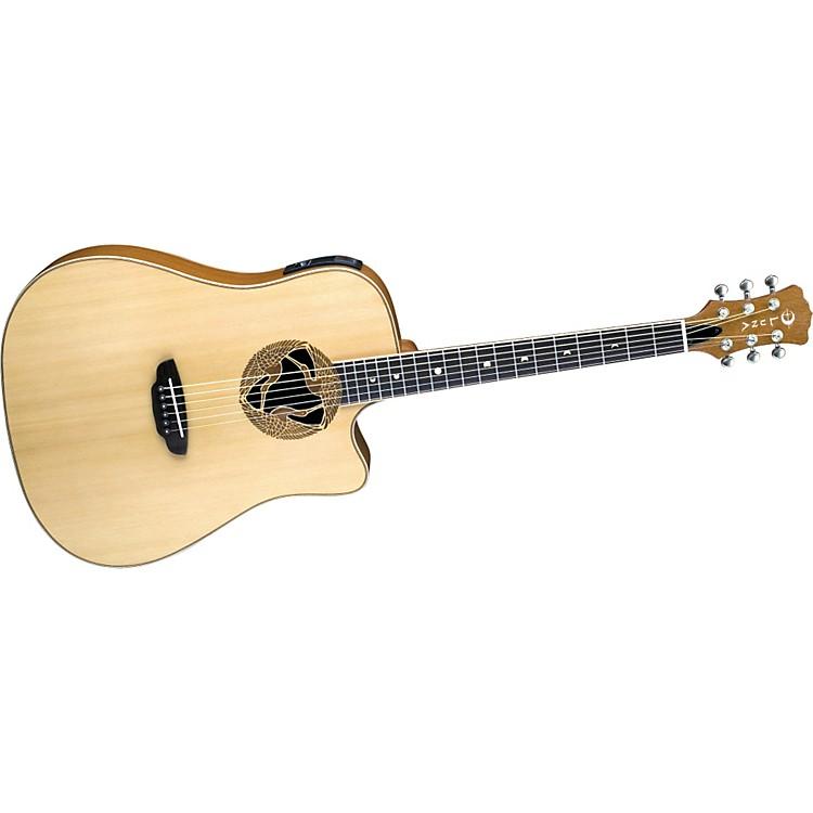 Luna GuitarsOracle Series Crane Dreadnought Cutaway Acoustic-Electric Guitar