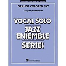 Hal Leonard Orange Colored Sky (Key: G) (Vocal Solo with Jazz Ensemble) Jazz Band Level 3-4 Composed by Milton DeLugg