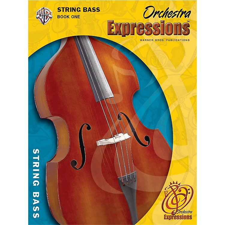 AlfredOrchestra Expressions Book One Student Edition String Bass Book & CD 1