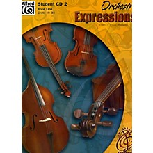 Alfred Orchestra Expressions Book One Student Edition Student CD 2
