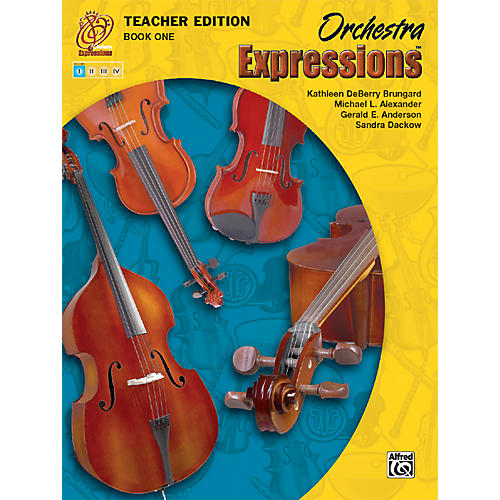 Alfred Orchestra Expressions Book One Teacher Edition Teacher Curriculum Package