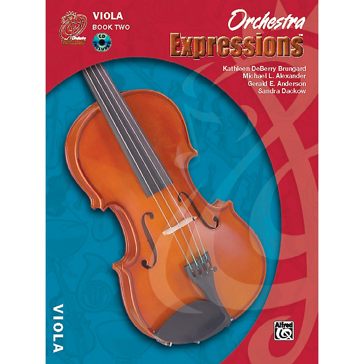 AlfredOrchestra Expressions Book Two Student Edition Viola Book & CD 1
