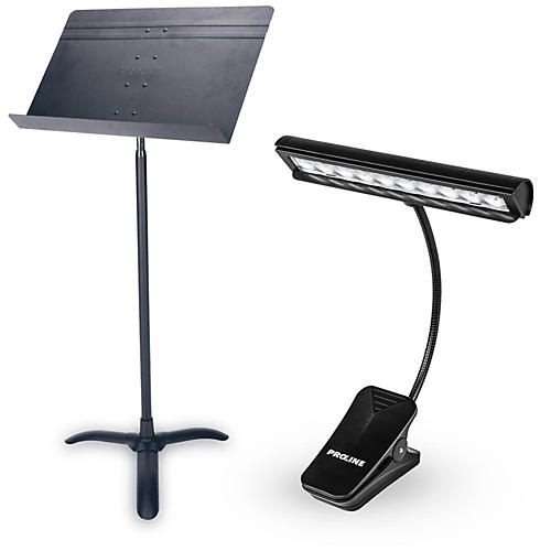 Proline Orchestra Music Stand & LED Light Combo-thumbnail