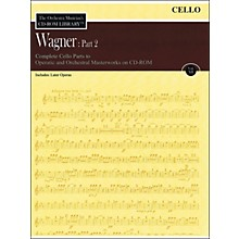 Hal Leonard Orchestra Musician's CD-Rom Library Vol 12 Wagner Part 2 Cello