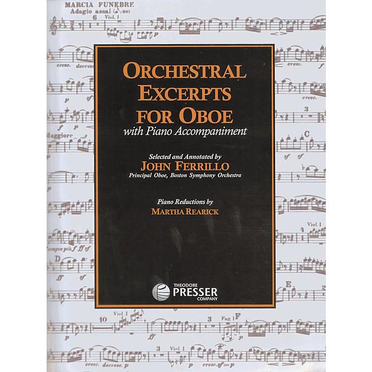 Carl FischerOrchestral Excerpts For Oboe Book