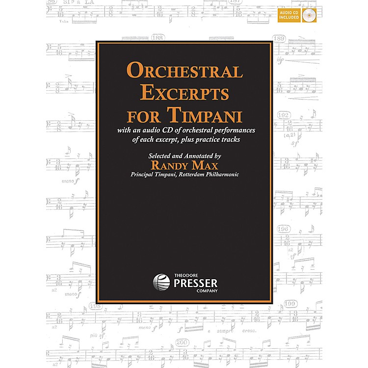Carl Fischer Orchestral Excerpts for Timpani