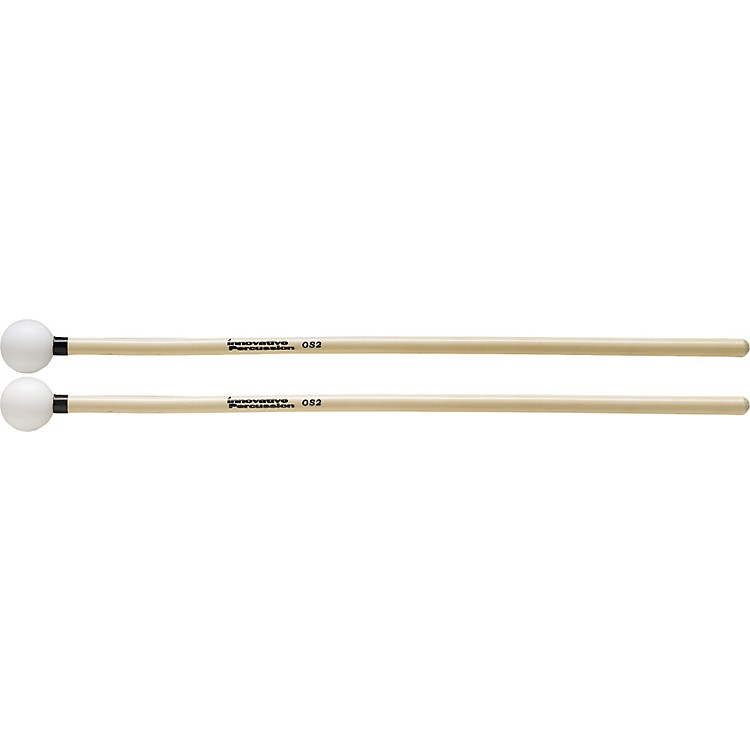 Innovative Percussion Orchestral Series Medium Soft Xylophone White Ball Black Tape
