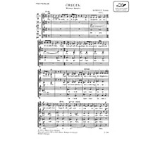 Editio Musica Budapest Oregek (The Aged) SATB Composed by Zoltán Kodály