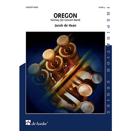 Hal Leonard Oregon Score Only Concert Band-thumbnail