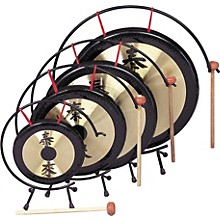 Rhythm Band Oriental Table Gongs 14 in. Gong Rb1073