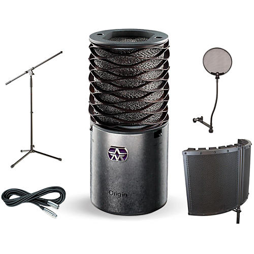 Aston Microphones Origin VS1 Stand Pop Filter and Cable Kit-thumbnail