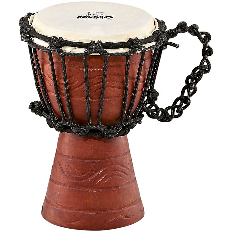 Nino Original African Style Rope-Tuned Water Rhythm Series Djembe XX-Small Extra extra small
