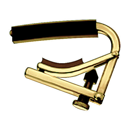 Shubb Original C Series Banjo Capo Brass