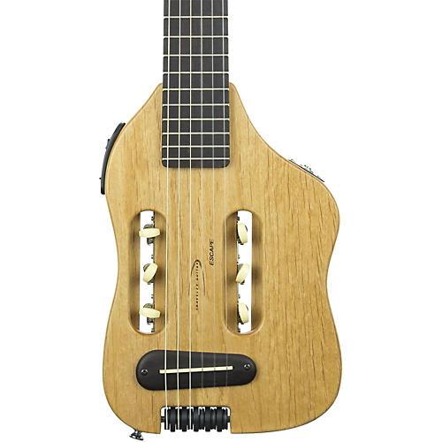 Traveler Guitar Original Escape Nylon-String Acoustic-Electric Travel Guitar Natural