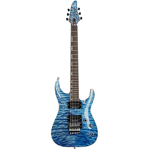 ESP Original Horizon CTM Electric Guitar with Floyd Rose Faded Sky Blue