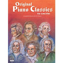 SCHAUM Original Piano Classics Educational Piano Series Softcover