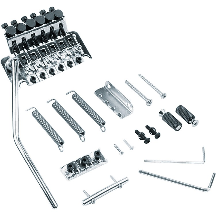 Floyd Rose Original Series Tremolo Bridge with R2 Nut Chrome